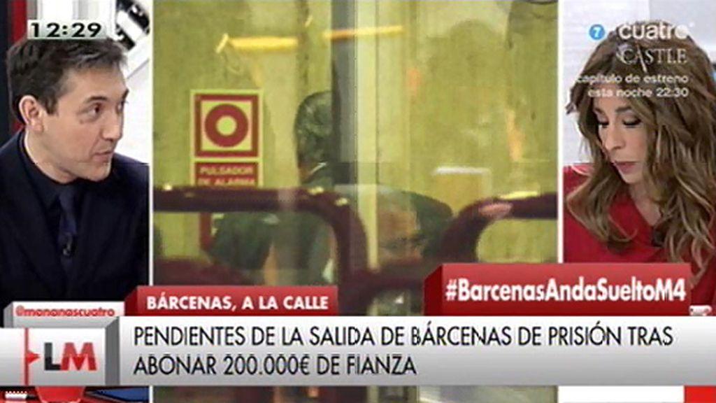 """Javier Ruiz: """"La suegra de Bárcenas ha puesto 8.000 euros"""""""
