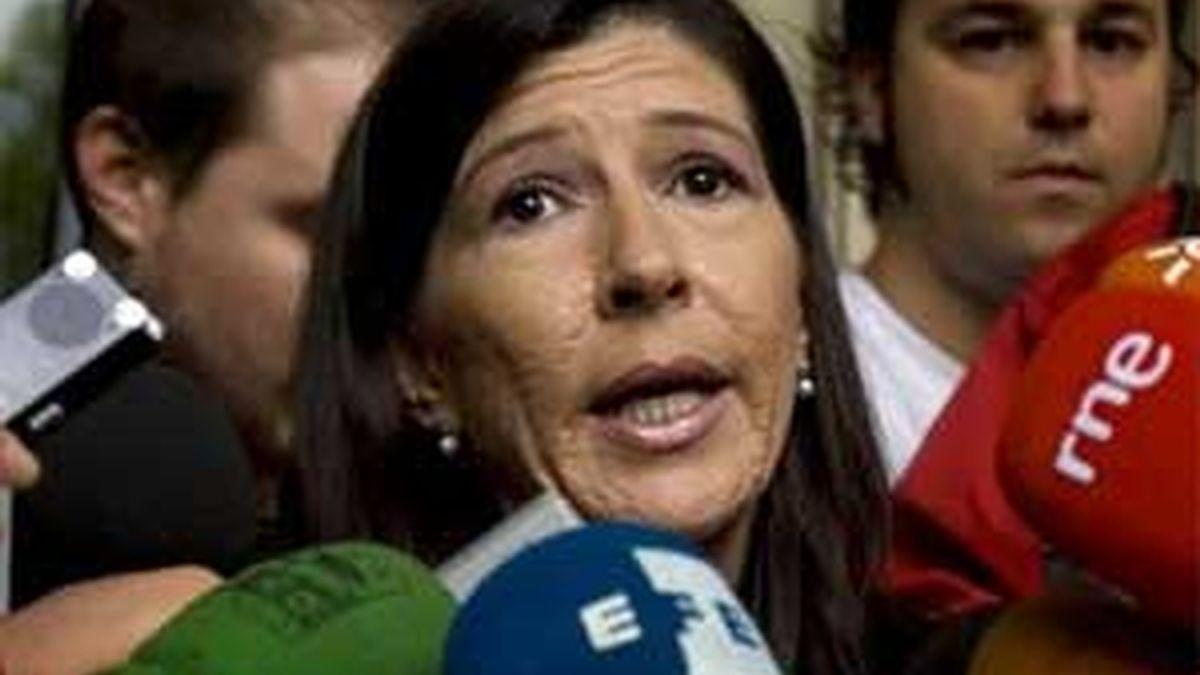 Juana Gálvez, la secretaria del Juzgado Penal 1 de Sevilla. Foto: EFE