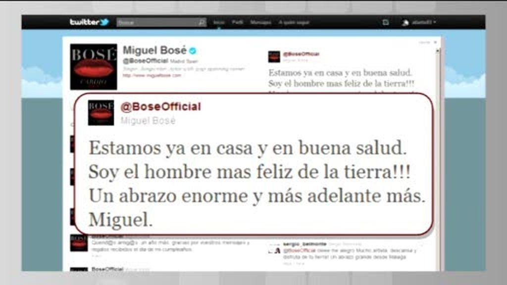 Miguel Bosé ya es padre