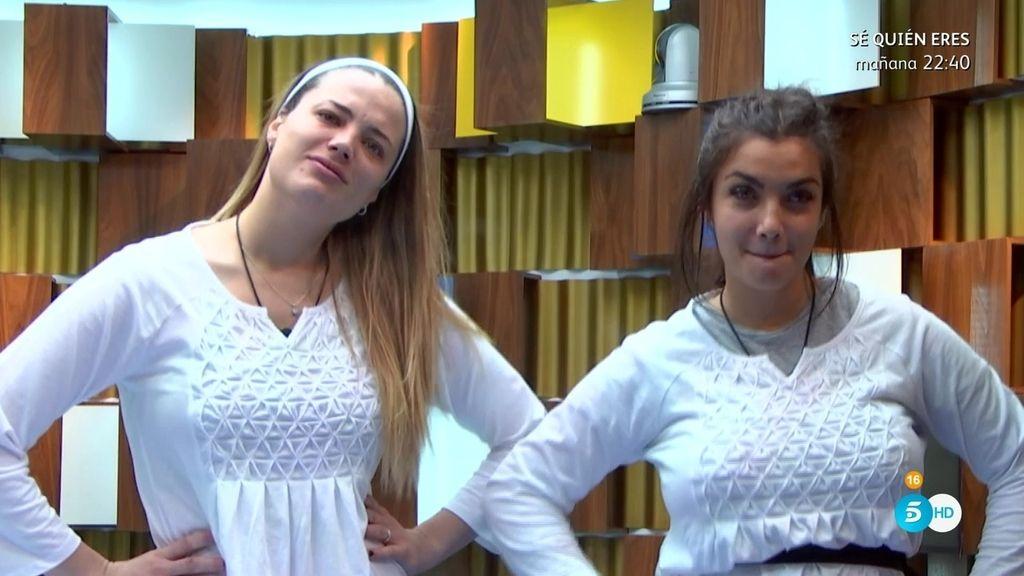 Alyson y Elettra le dan un 'repasito' a Daniela