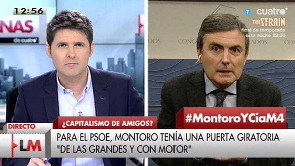 """P. Saura: """"El señor Montoro, Rajoy, el gobierno del PP, es una máquina de destrucción de la conciencia fiscal"""""""