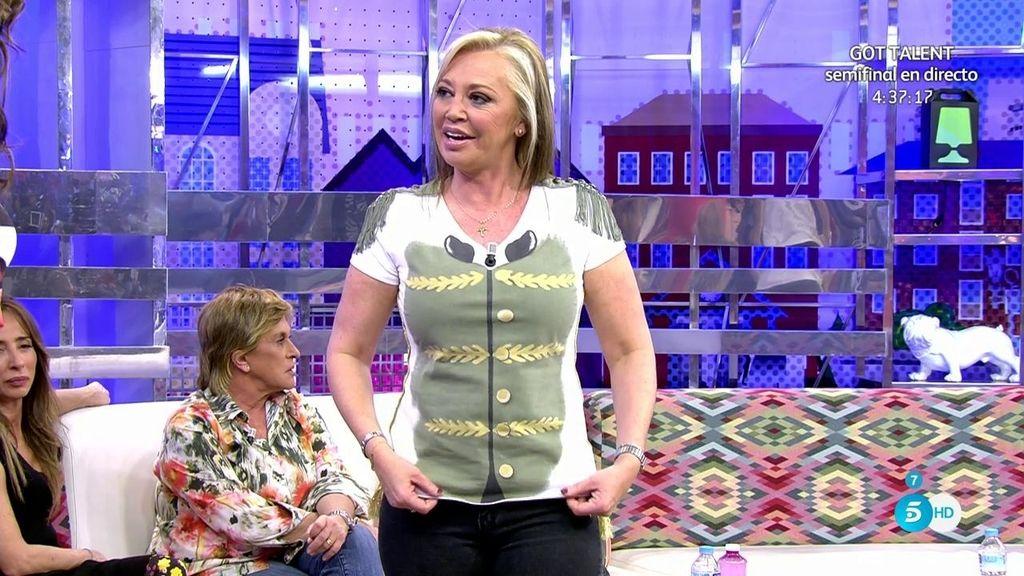 "Belén Esteban: ""Con esta camiseta queremos recaudar dinero para la 'Fundación Querer"""