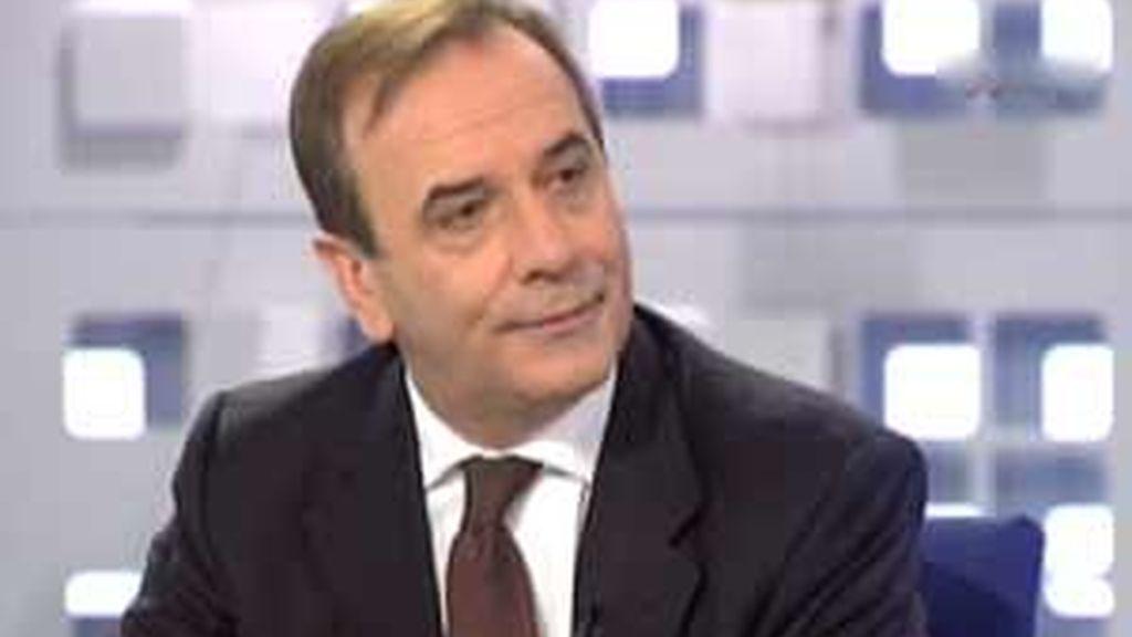José Antonio Alonso, portavoz del PSOE en el Congreso de los Diputados en La Mirada Crítica. Vídeo: Informativos Telecinco