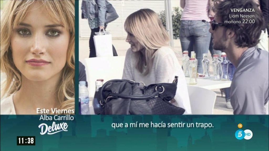"""Alba Carrillo: """"Me sentía infravalorada como mujer por parte de Feliciano"""""""