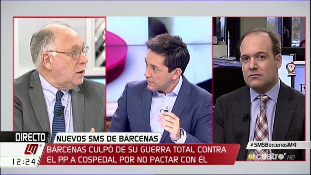 """Ernesto Ekaizer: """"Bárcenas me dice que no tiene ningún arsenal"""""""