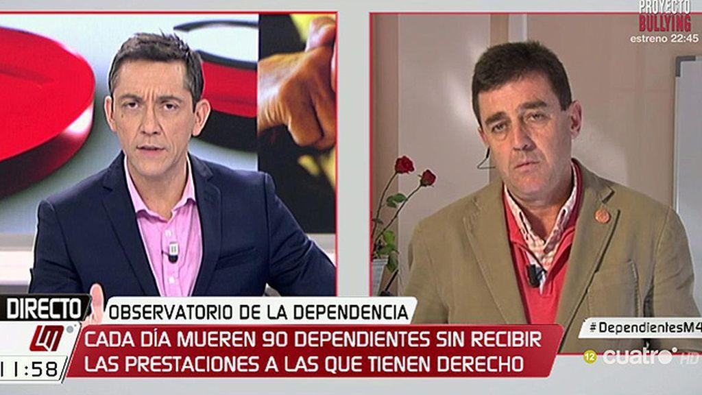 """J.M. Ramírez, sobre la ley de dependencia: """"No hay voluntad política"""""""