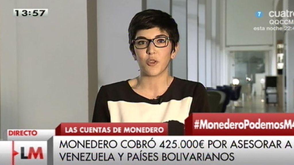 """Violeta Barba: """"Es curioso que el día que Rajoy se niega a comparecer, 'El País' dice que Monedero ha engordado el currículum"""""""