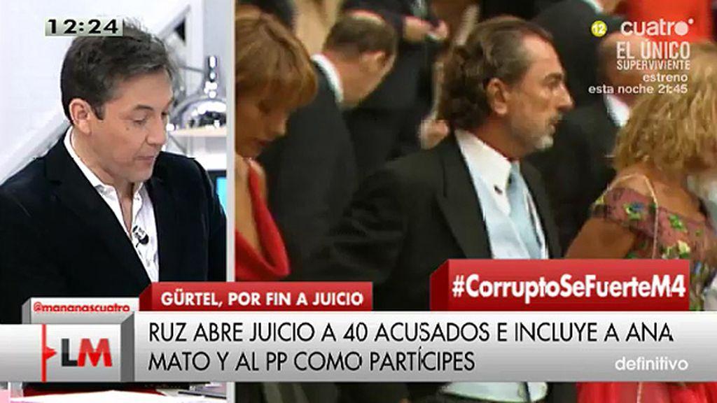 """Javier Ruiz, sobre Gürtel: """"Es la mayor trama de corrupción de la historia de España"""""""