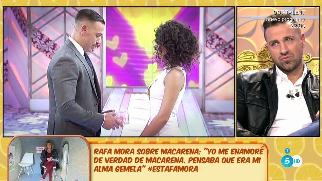 Recordamos la idílica historia de amor entre Rafa Mora y Macarena