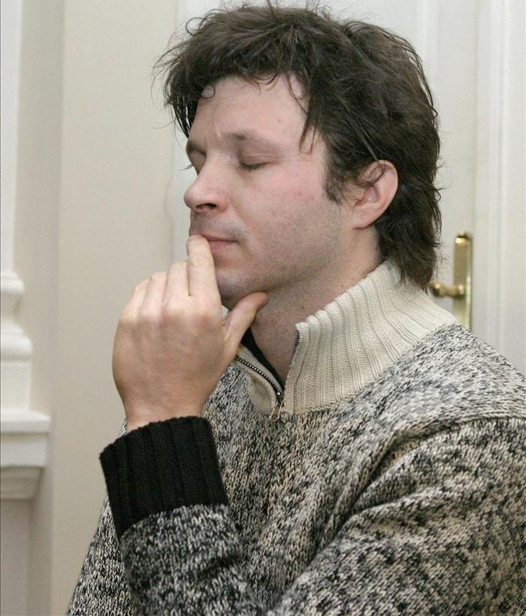 El cantante francés Bertrand Cantat. EFE/Archivo