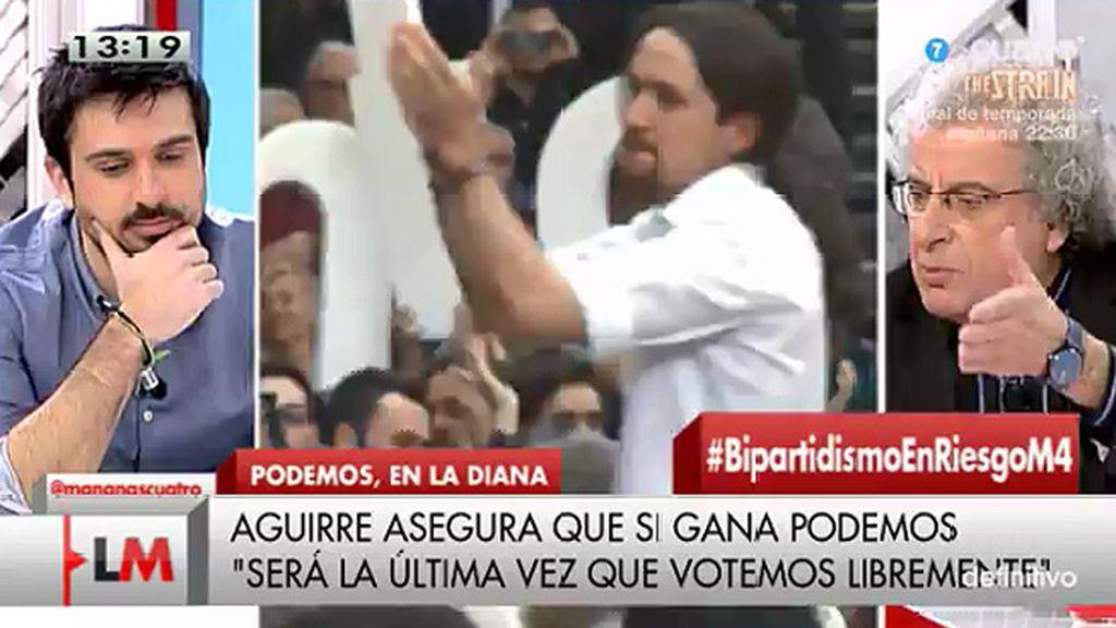 """'Pique' entre Calleja y Espinar: """"No me lo expliques y no lo digas con ese tono"""""""