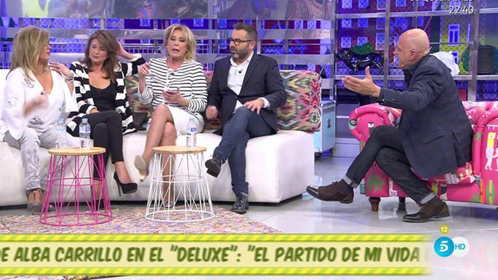 """Kiko Matamoros: """"Alba Carrillo vive cabalgando en la mentira"""""""