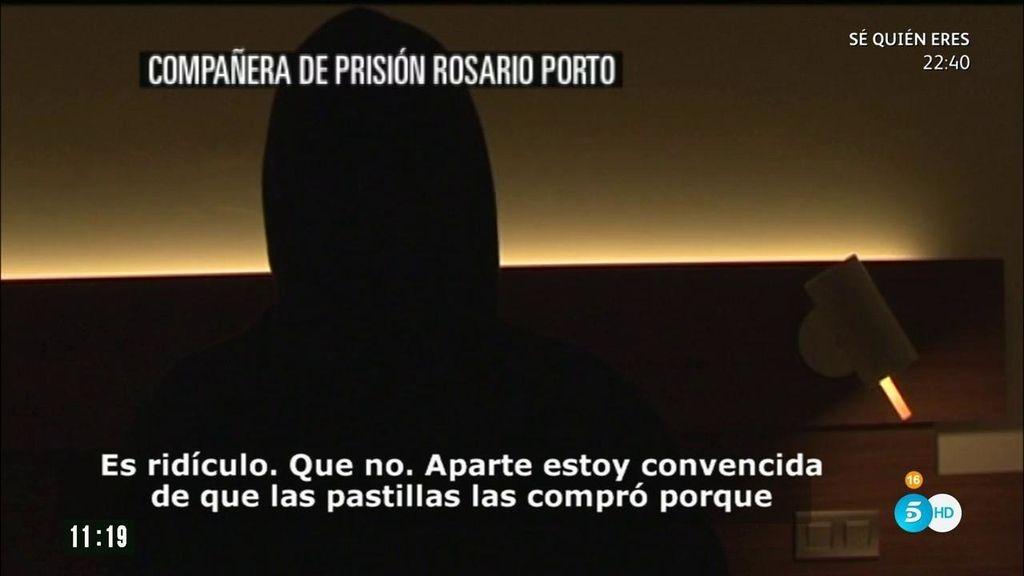 """Compañera de prisión de Rosario Porto: """"Tuvo que comprar las pastillas"""""""