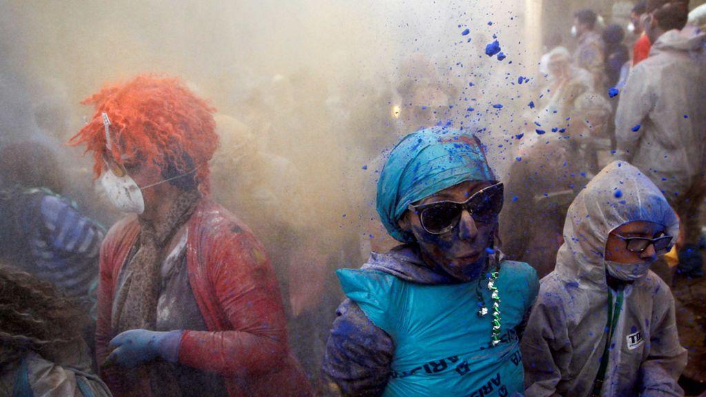 """La """"guerra de la harina"""" en Grecia"""