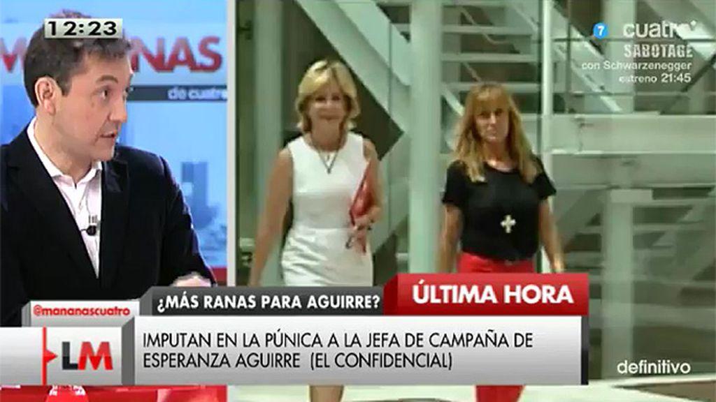Imputan en la 'púnica' a la jefa de campaña de Esperanza Aguirre