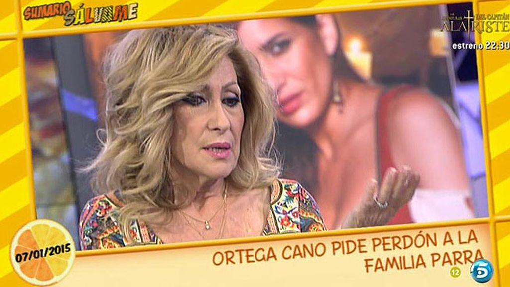 """Rosa Benito, sobre el perdón de Ortega Cano: """"Yo sé que él está muy arrepentido"""""""