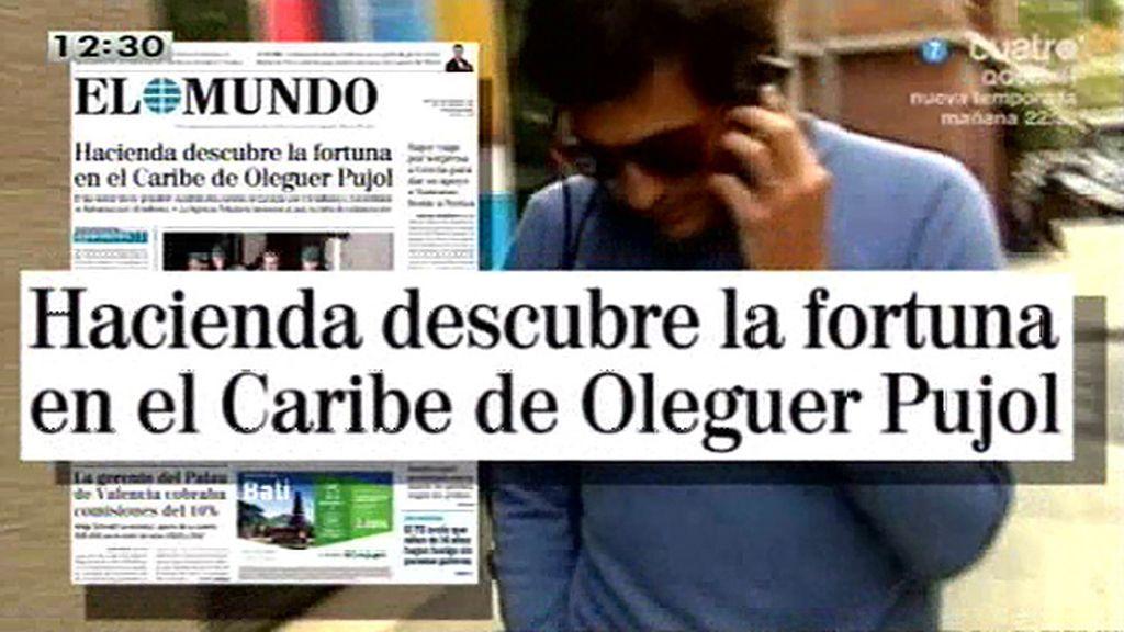 Hacienda descubre la fortuna de Oleguer Pujol en el Caribe, según 'El Mundo'