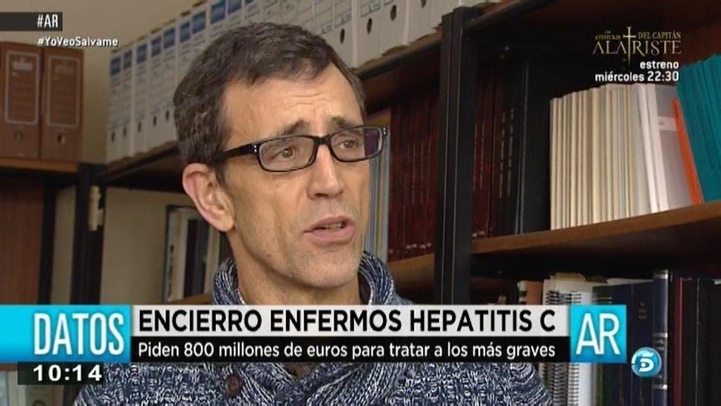 """Julen, enfermo de hepatitis C: """"Por no recibir un tratamiento de 25.000 euros ahora tienen que hacerme un trasplante de hígado"""""""