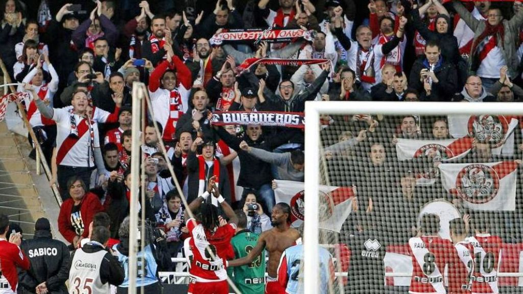 Atletico de Madrid,Rayo Vallecano,Bukaneros,Frente Atletico