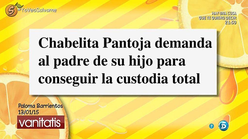 Chabelita ha demandado a Isla para tener la custodia total de su hijo, según 'Vanitatis'