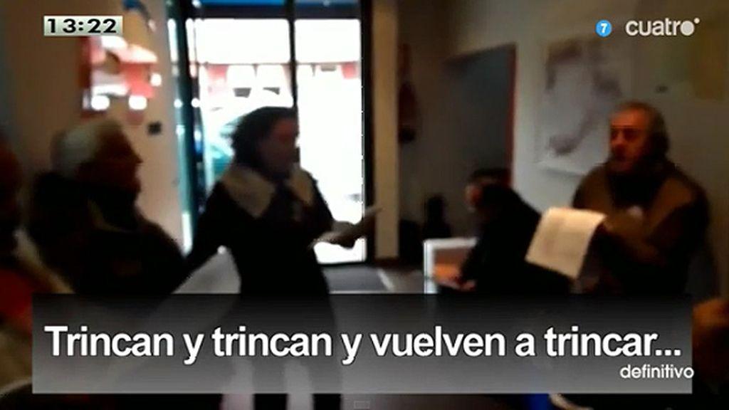 """Villancicos protesta: """"Trincan y trincan y vuelven a trincar"""""""