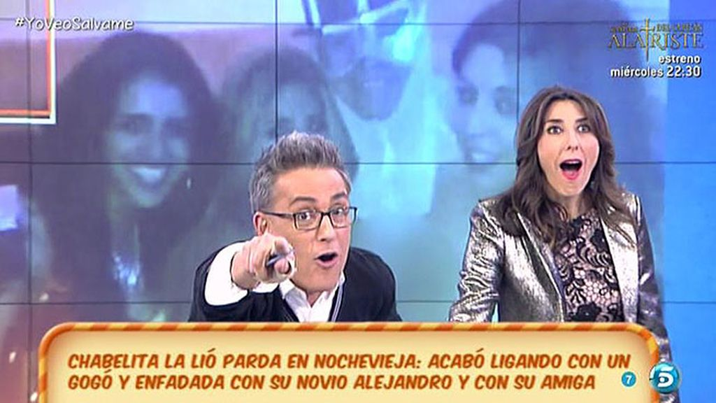 "Kiko: ""Un gogó besó apasionadamente a Chabelita... ¡pero también besó a Marta!"""