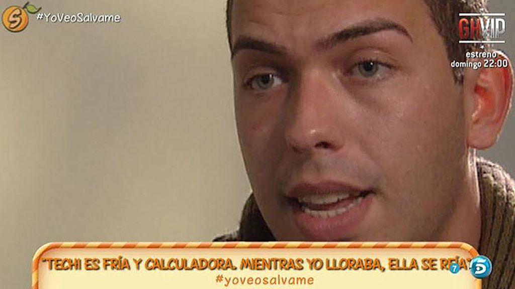 "Alberto Isla: ""Creo que Techi se ha encaprichado de otro tío"""