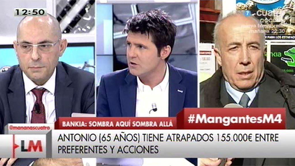 """Antonio, preferentista: """"No podemos votar a los que nos roban"""""""