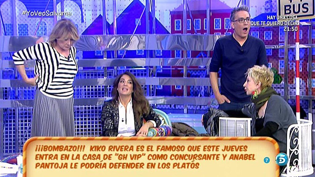 """Jorge Javier, a los colaboradores: """"Vosotros coméis gracias a los Pantoja"""""""