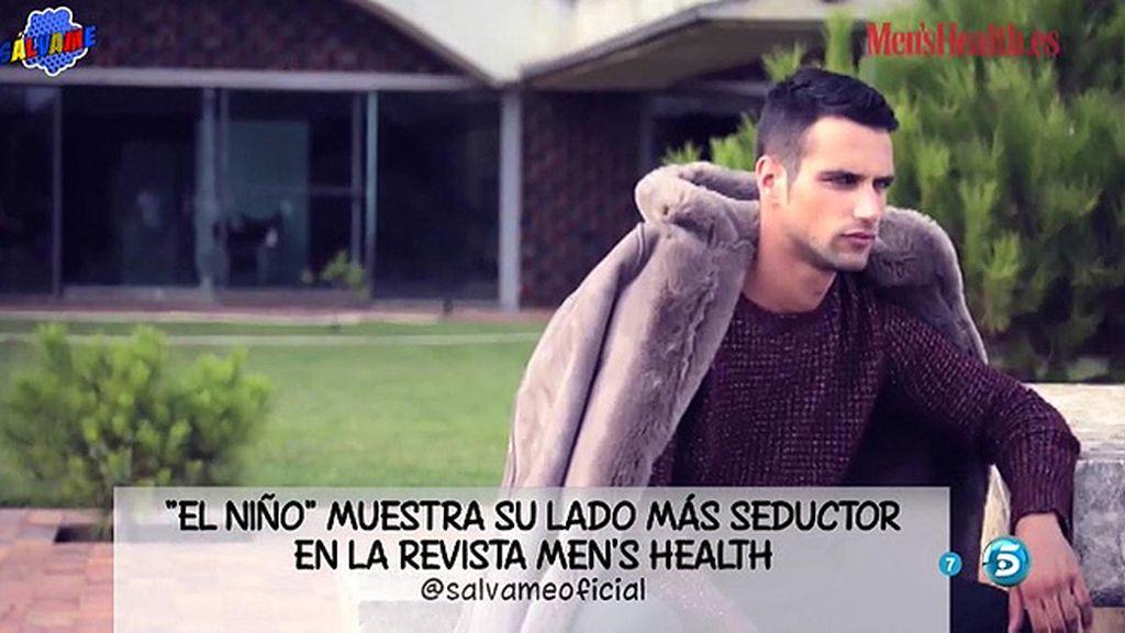 Jesús Castro, en la revista 'Men's Health'