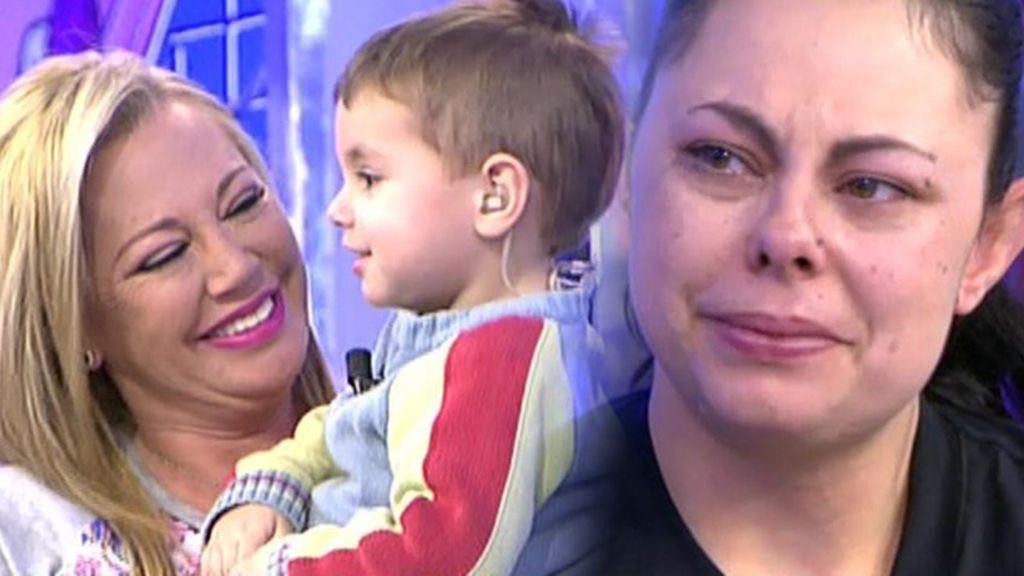 Belén Esteban ayudará a Mónica a pagar los audífonos que su hijo necesita