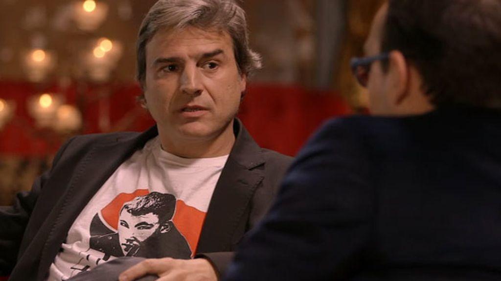 """Alberto San Juan, sobre Willy Toledo: """"Tuvimos enfrentamientos muy fuertes"""""""