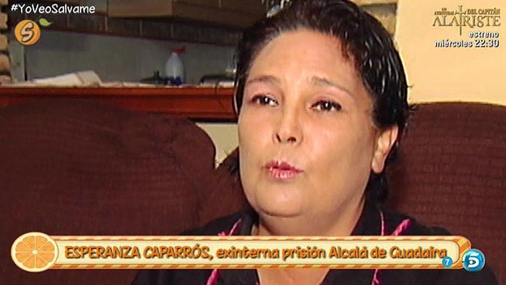 """Esperanza Caparrós: """"Pantoja se tomó las uvas en la celda, como todas las demás"""""""