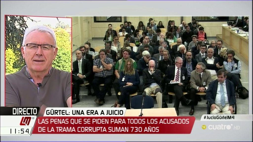 """Lara: """"Espero que el atasco en la Audiencia se produzca después en Alcalá Meco"""""""
