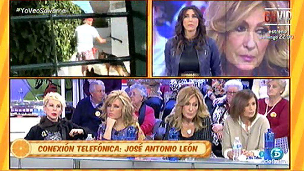"""J.A.León: """"Amador hizo la fiesta en la nave donde se guardan las cosas de R. Jurado"""""""
