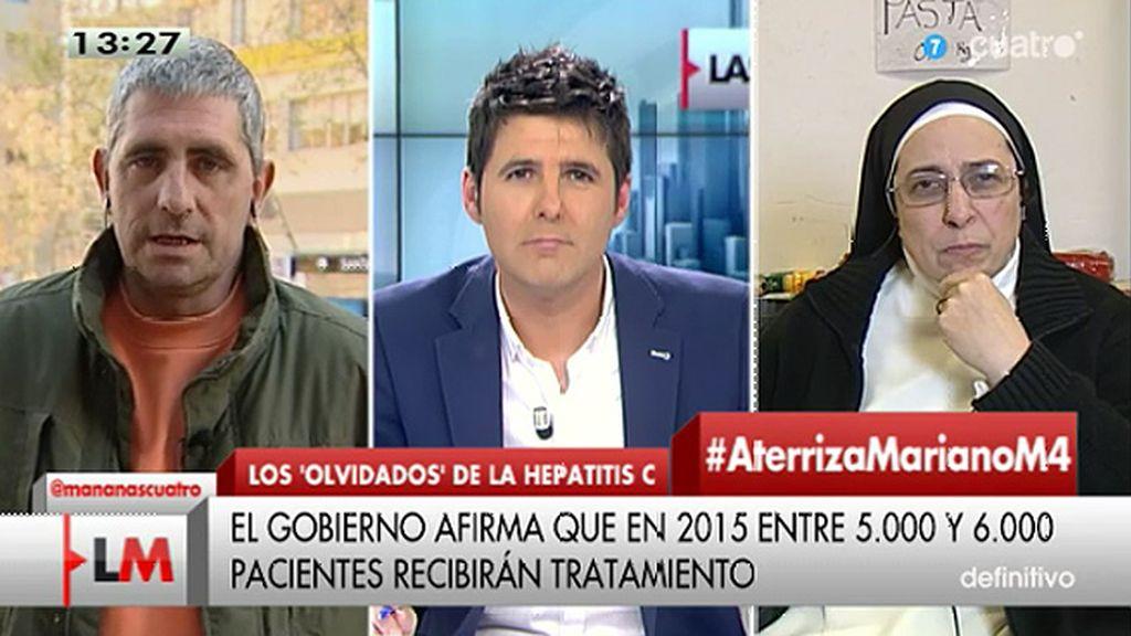 """Mario Cortés: """"No pararemos hasta que se cumplan nuestros derechos porque nos estamos jugando la vida"""""""