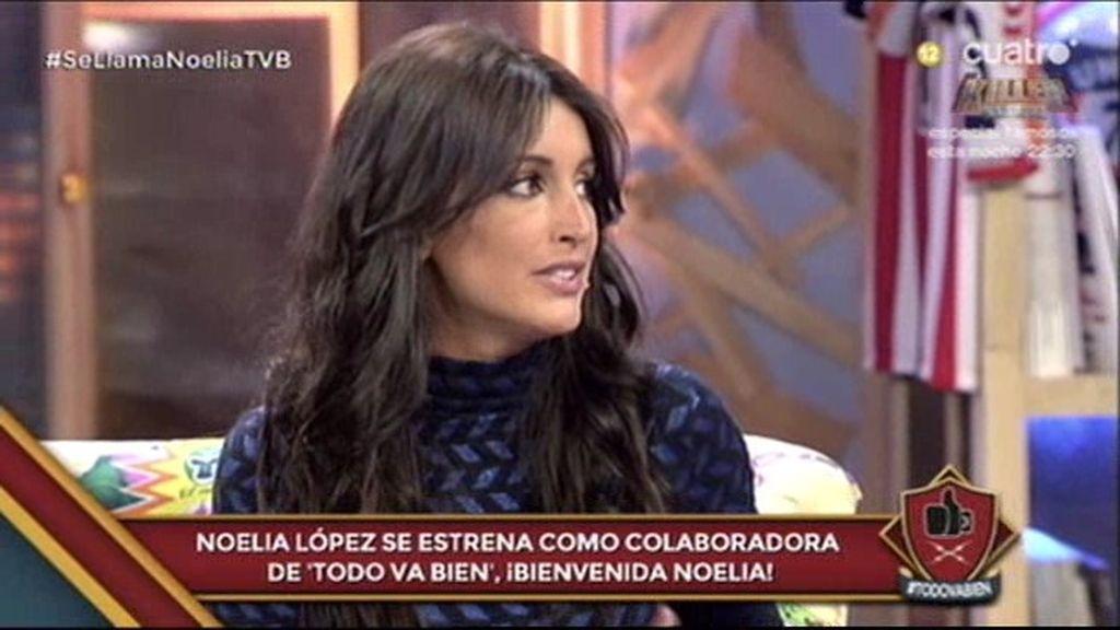 La guapa Noelia López, nueva colaboradora de 'Todo va bien'