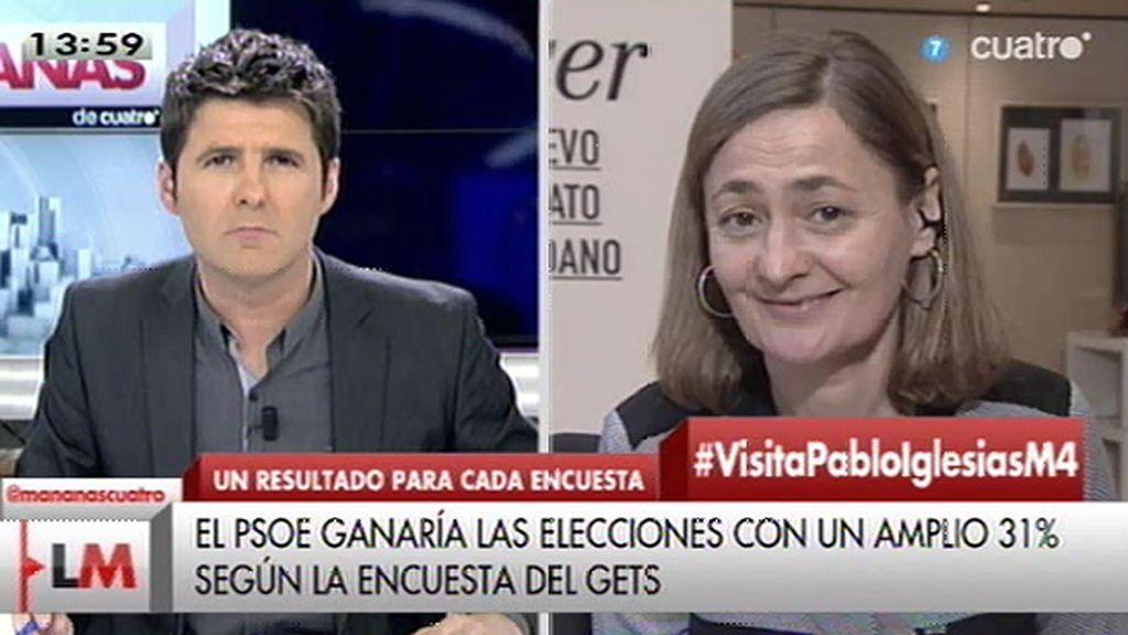 """Mª Luz Rodríguez: """"No estamos pensando en el día después de las elecciones, sino en el camino que tenemos que recorrer"""""""