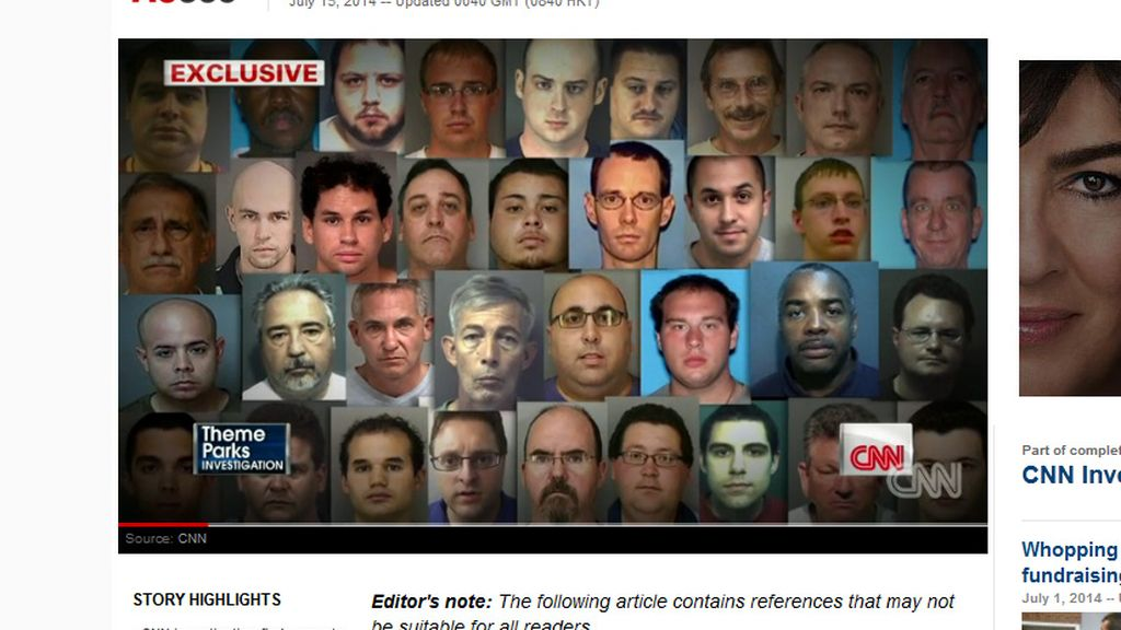 Desde 2006 han sido detenidos 35 empleados de Disney por abusos a menores