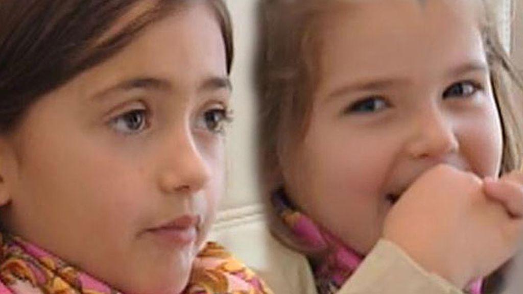 Mónica y María se enfrentan al test de niños listos de Javier Abascal