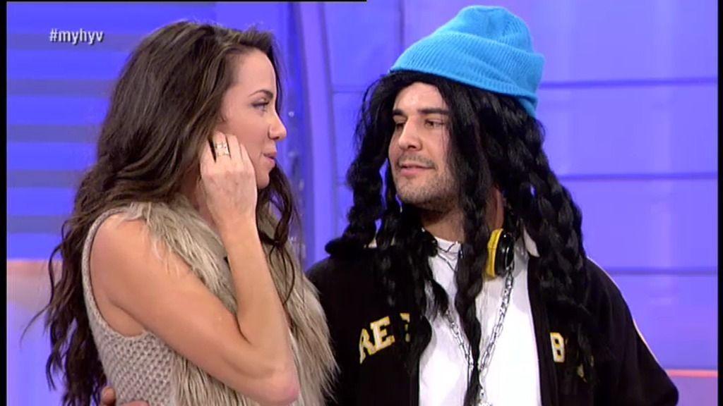 Javier le dedica un rap a Adrián