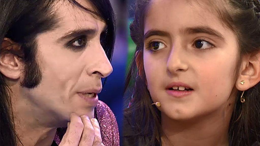Lucía alucina al ver a Mario Vaquerizo