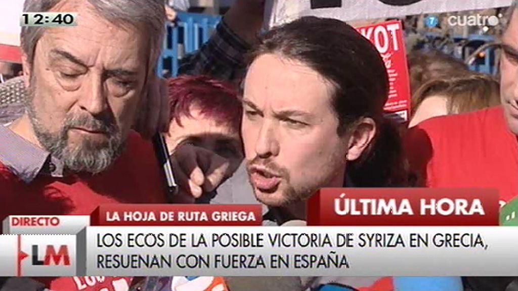 """Iglesias: """"Los datos del Gobierno revelan que las políticas van en la dirección contraria"""""""