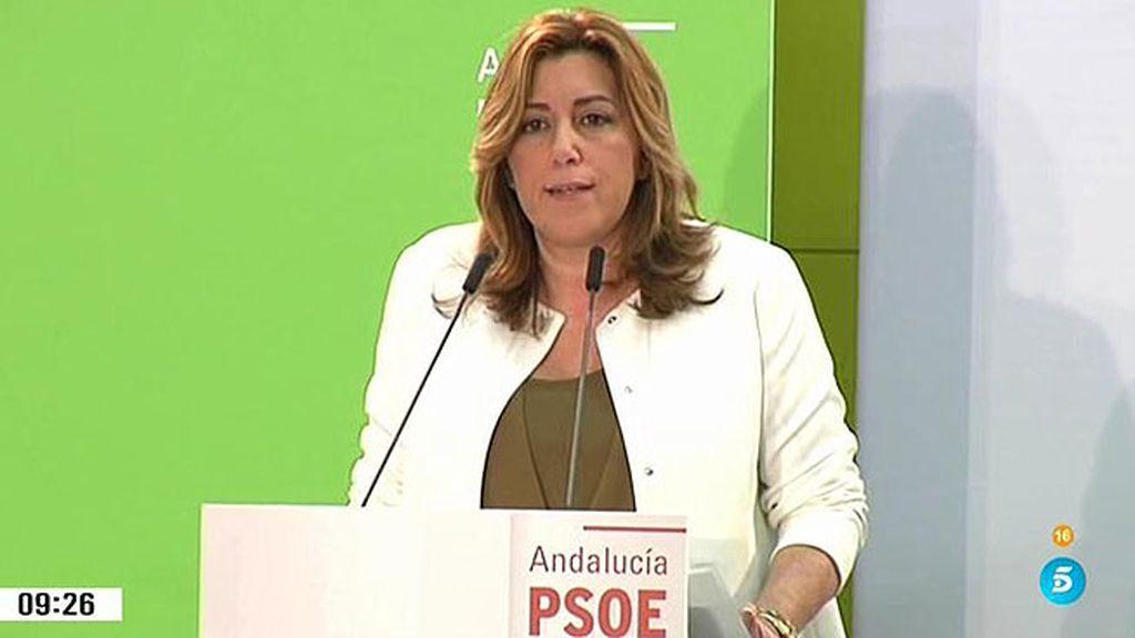 S. Díaz saca músculo y presiona a Sánchez