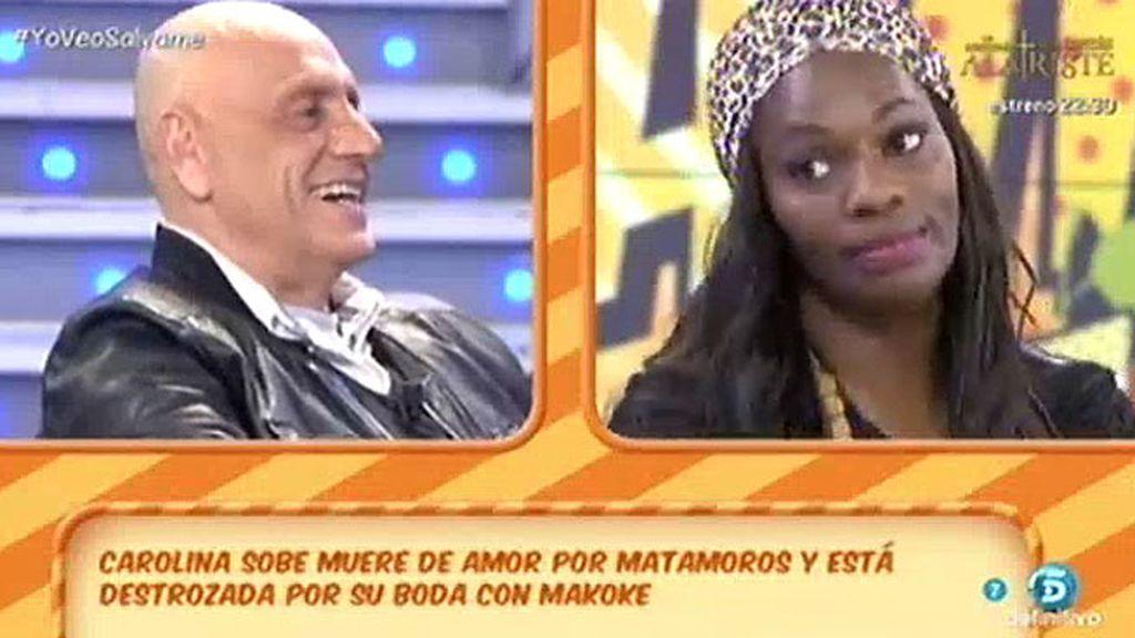 """Carolina Sobe, a Matamoros: """"Tú eres mi amor platónico y lo que tú quieras"""""""