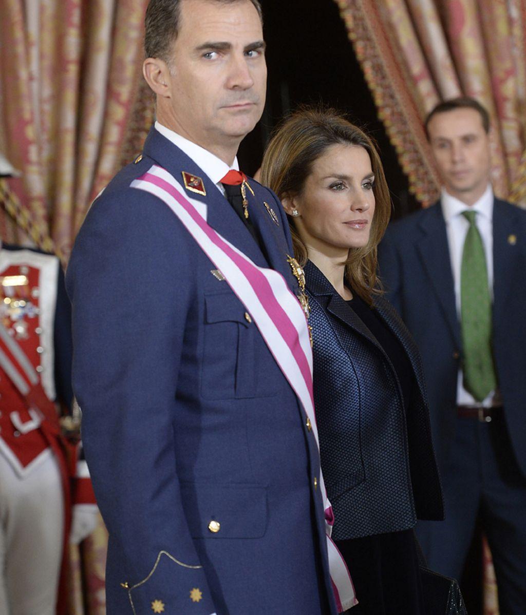 Felipe VI y doña Sofía han llamado a Lequio para darle el pésame por la muerte de su madre