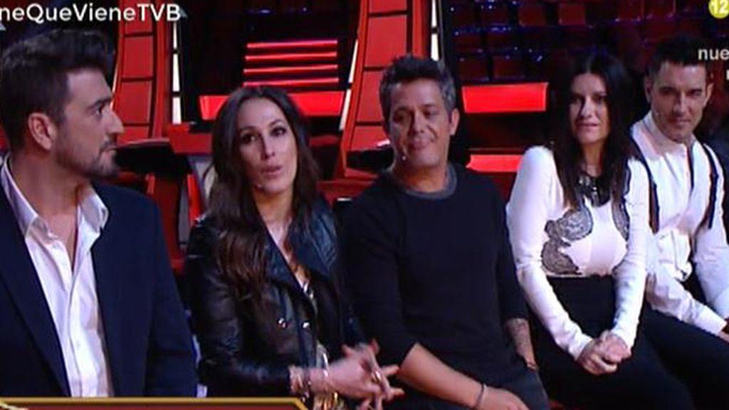 """Laura Pausini, a Abascal: """"Yo hubiera elegido al joven Alejandro Sanz en las audiciones"""""""