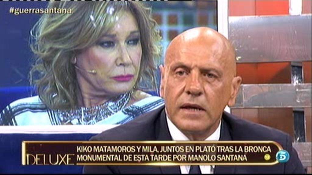 """Kiko Matamoros: """"No tengo el ánimo para entrevistar a Milá Ximénez"""""""