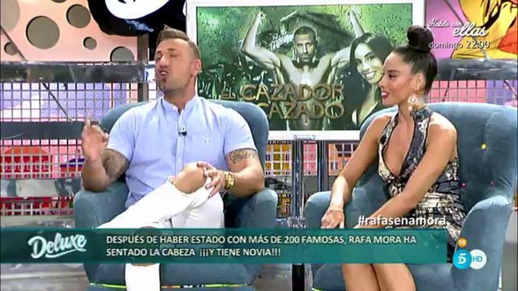 """Rafa Mora, sobre su novia Macarena: """"Tardé un mes en intimar con ella"""""""