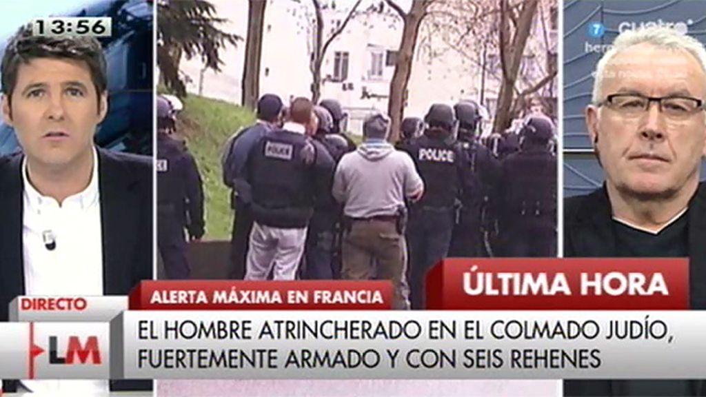 """Lara: """"No estamos ante un atentado individual sino ante una operación concertada"""""""